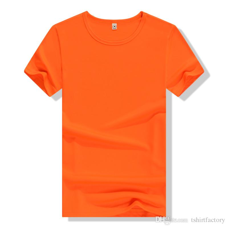 Customs solid color quick dry t shirt printing logo for Colour t shirt printing