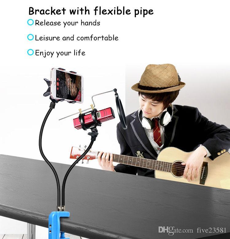Universal Studio Microphone Mic Desk Desktop Stand Adapter with