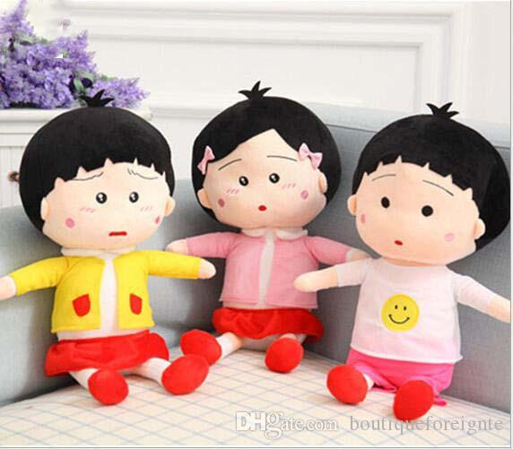 2017 Chibi Maruko Chan 3kinds Plush Toy Doll Children