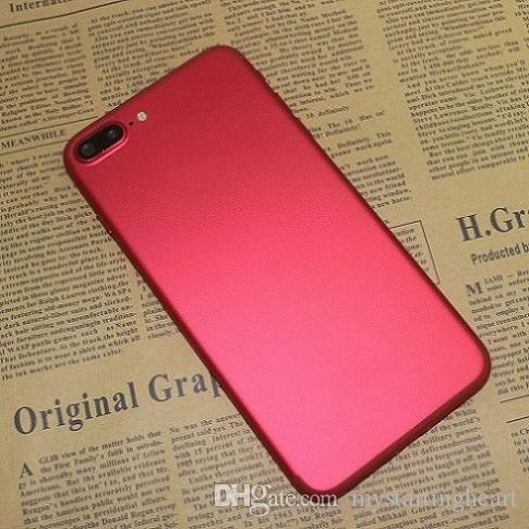 Red Goophone i7 Plus authentique Quad Core MTK6580 1 Go RAM 8 Go ROM 1280 * 720