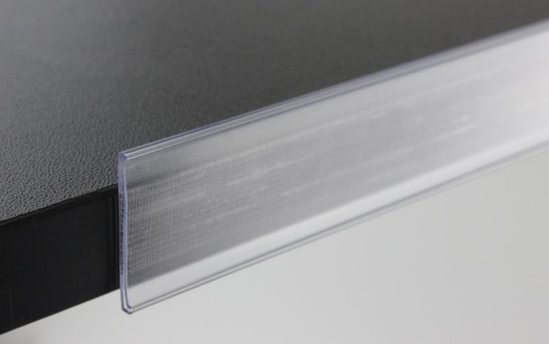 Black flexible label strip ideal