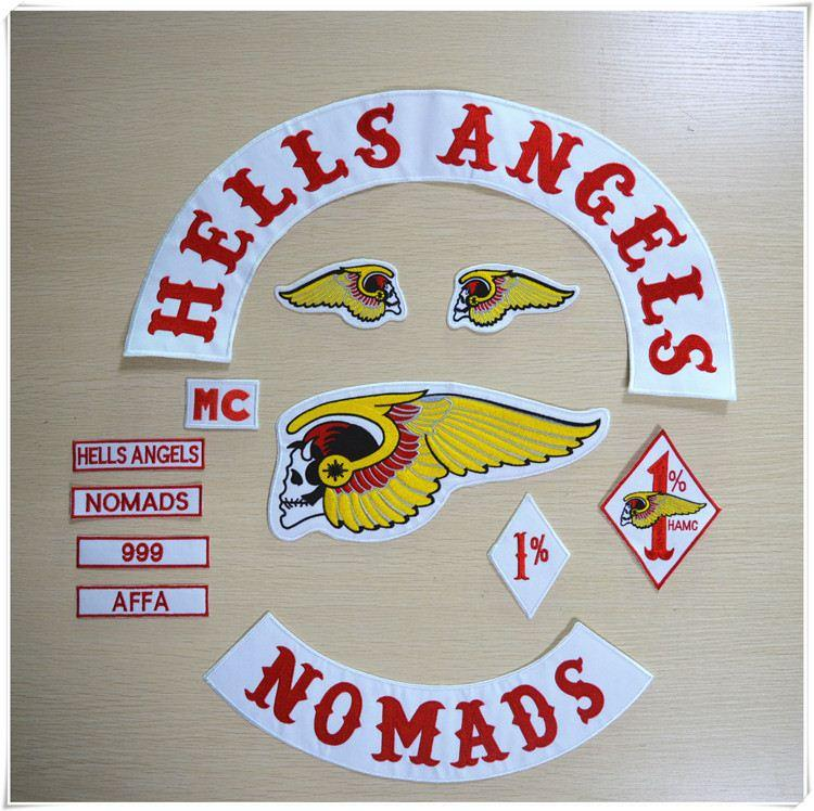 2017 hells angels patches embroidered sew on patch jacket