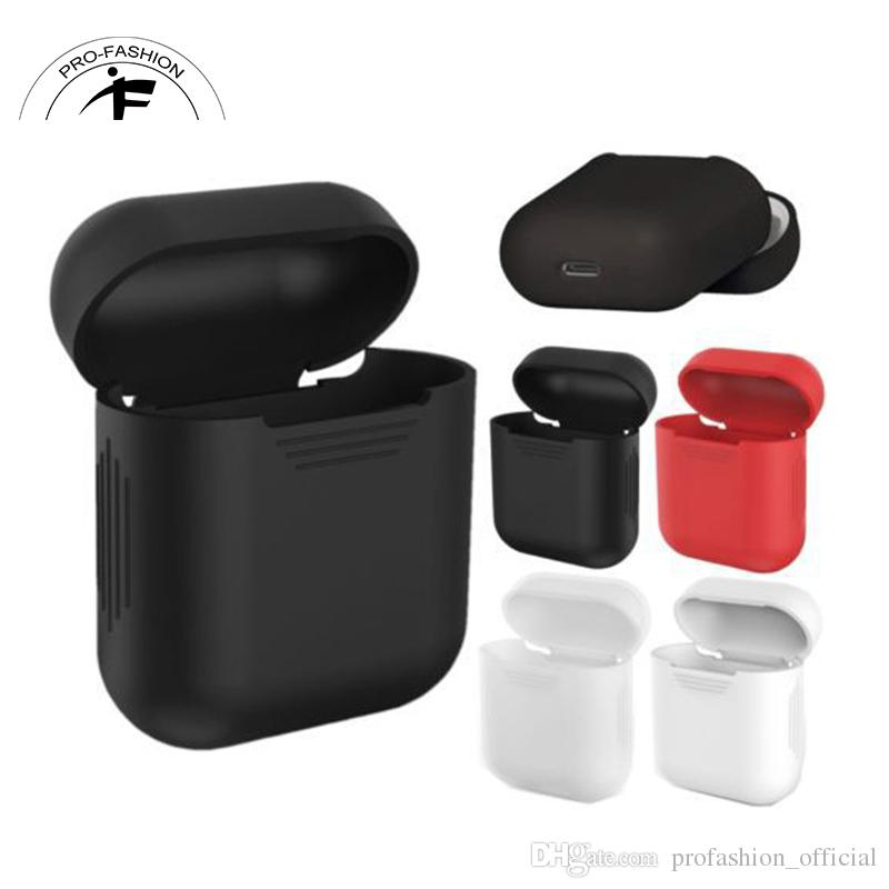 Housse de protection Airpod Housse de protection sans fil Bluetooth Housse en si
