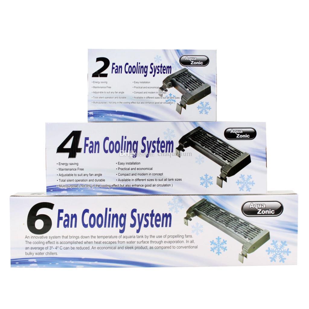 Aquarium fish tank cooling fan - Brand New Dc12v Aqua Zonic 2 4 6 Fans Aquarium Cooling System Nano Marine