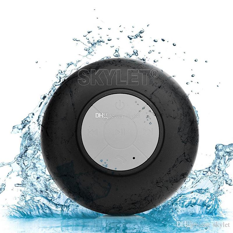 Bluetooth Speaker Waterproof Wireless Shower Handsfree Mic Suction Chuck Speaker Car Speaker Portable mini MP3 Super Bass Call Receive