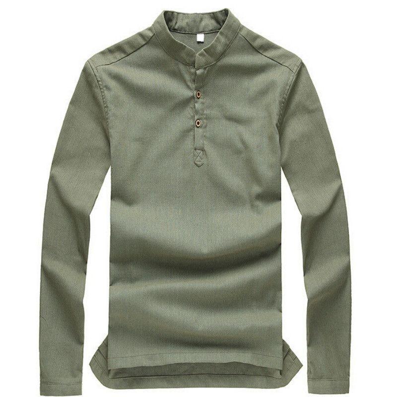 Mens pullover long sleeve shirts artee shirt for Mens long sleeve pullover shirts