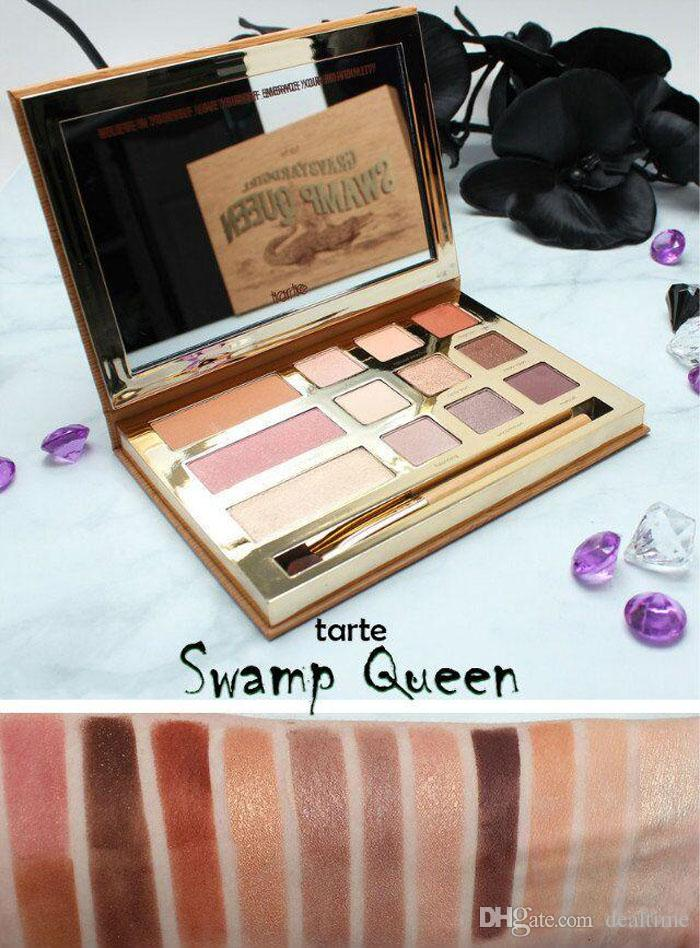 tarte palette swamp queen eye shadow in bloom clay palette eye shadow by tarte eyeshadow palette. Black Bedroom Furniture Sets. Home Design Ideas