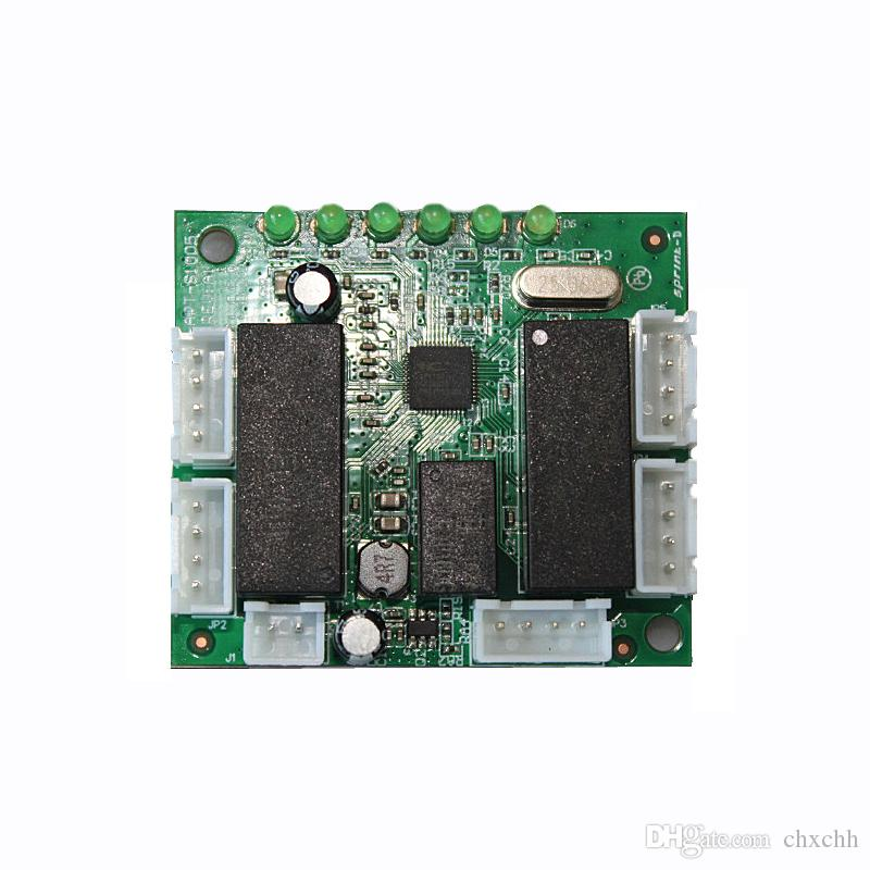 Ethernet Switch 6 Port Pcb Board Network Switch