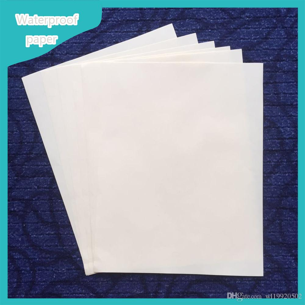 Plsy Brand Resume Paper Cotton Linen Fiber 22lb White Color 216 ...