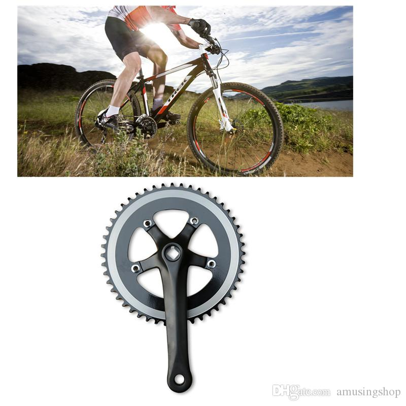 Alloy Single Speed Bike Crankset Chainset Square Taper Fit Crank