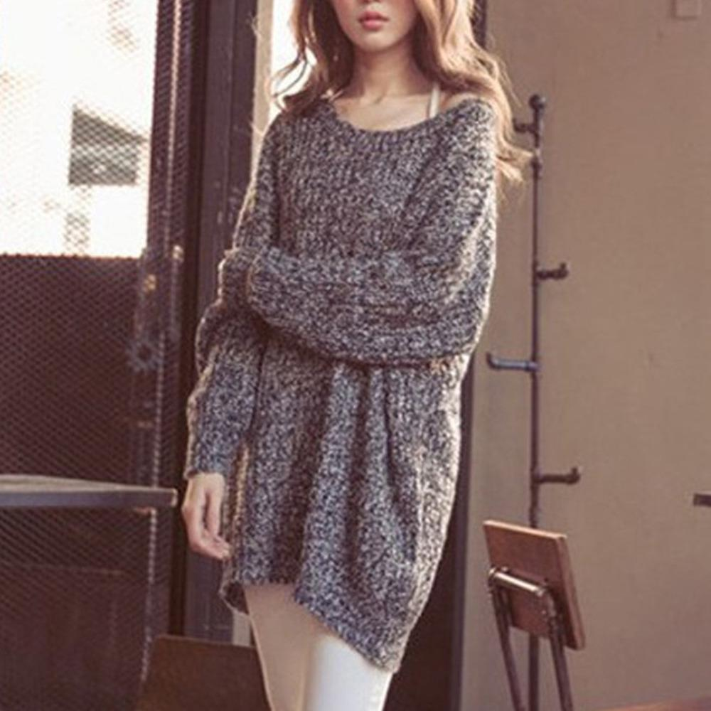 Wholesale- Long Oversized Sweater Dress Christmas Wool Knitted ...