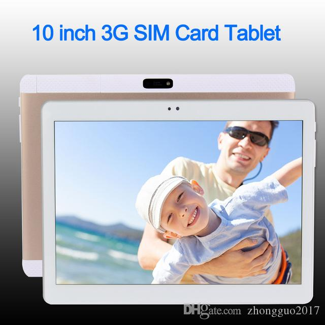 10 pouces Original 3G 4G Phone Call Carte SIM Android 6.0 Octa Core IPS WiFi GPS