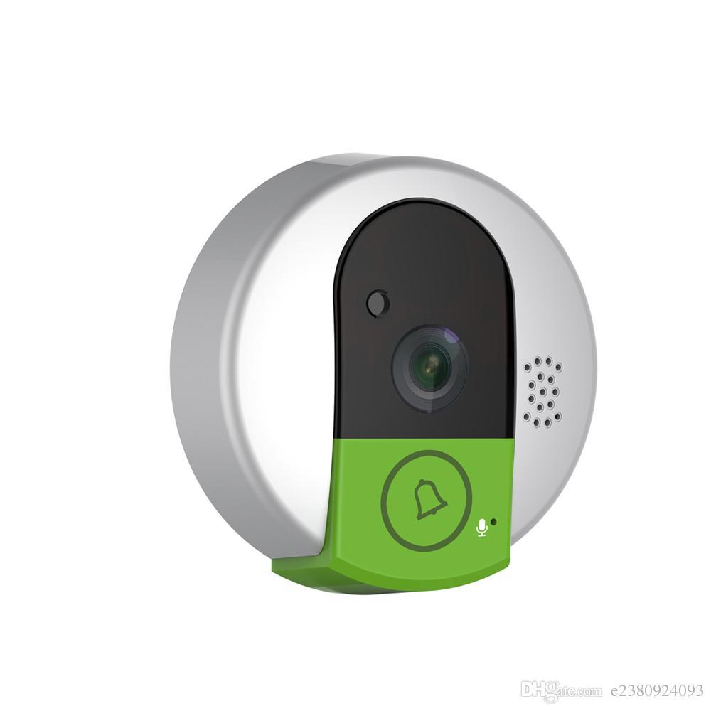 Doorbell Ip Camera - C95 ip door camera eye hd 720p wireless doorbell wifi via android phone control video peephole door camera wifi waterproof dome camera ip camera ip camera