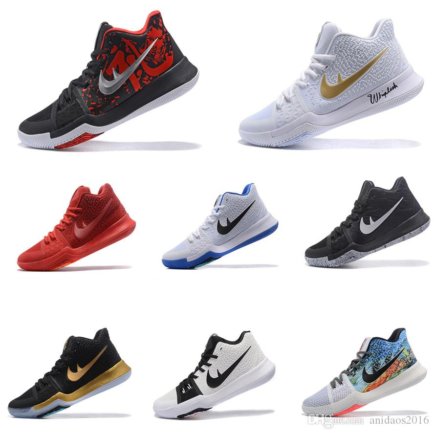 2017 2017 kyrie 3 basketball schuhe m nner frauen rote. Black Bedroom Furniture Sets. Home Design Ideas