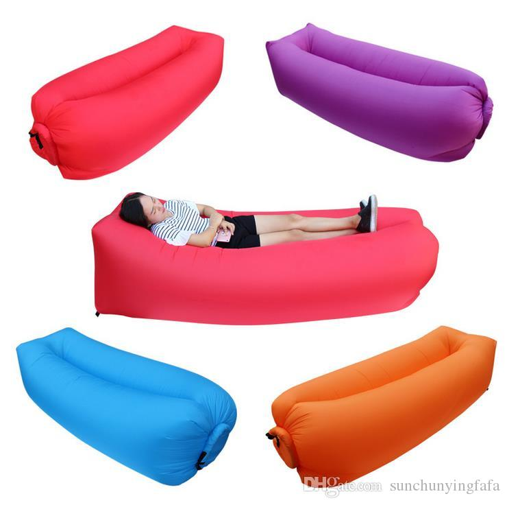 Pink Inflatable Couch