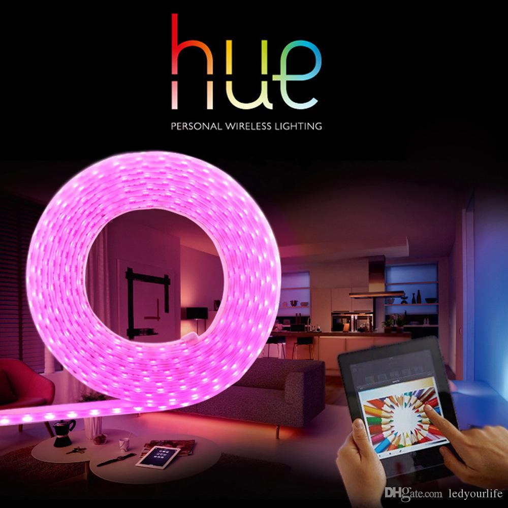 Amazing Zigbee Led Strip Light With Philips Hue And Homekit Control Smart With  Control Lights With Phone