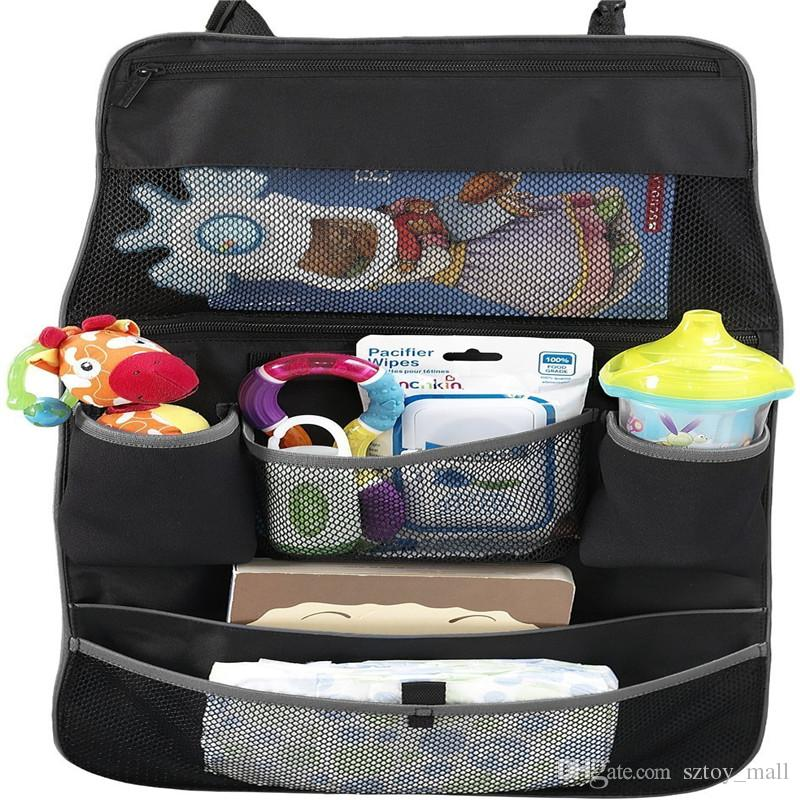 2018 baby travel stroller bag car seat container hanging multifunctional storage nappy cup. Black Bedroom Furniture Sets. Home Design Ideas