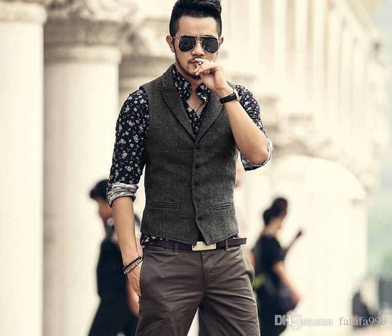 Vest Male Fashion
