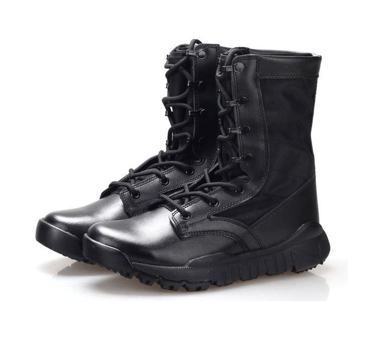 High Quality Ultra Light Breathable Tactical Boots Mens Police ...