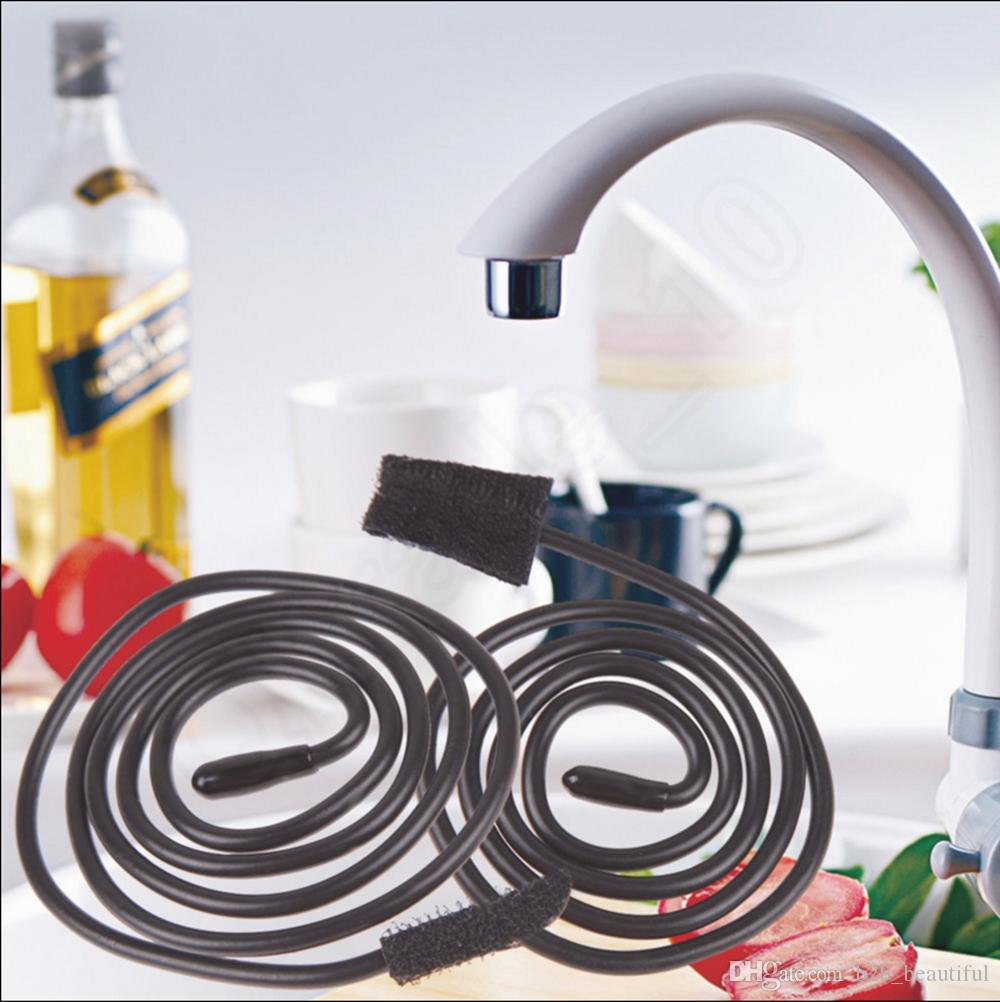 Pipe Cleaner Sewer Pipe Dredge Device Sink Snake Clean Slow - Kitchen sink snake