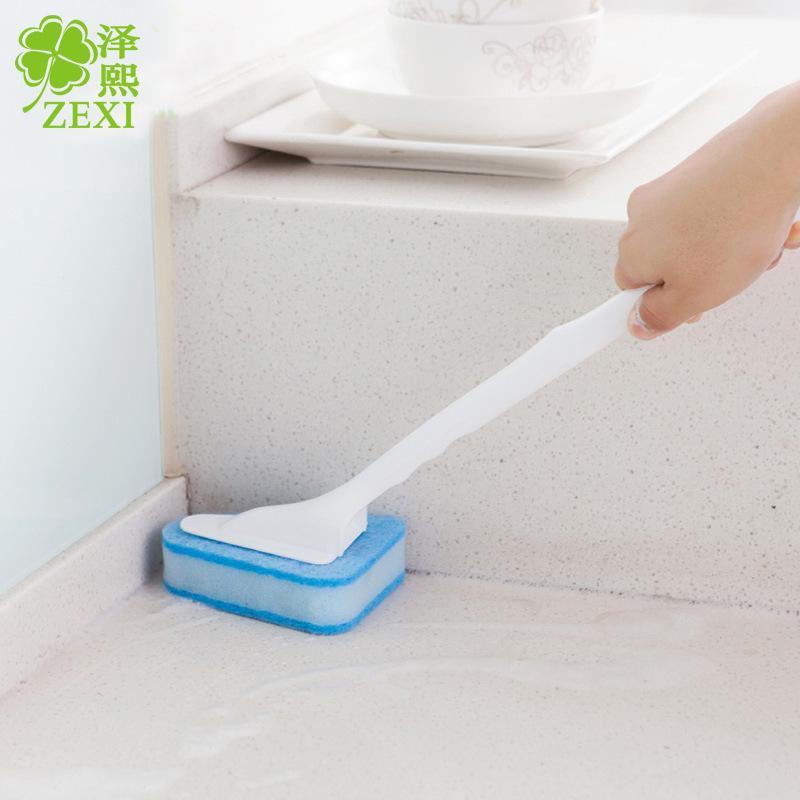 Brilliant  Bathroom Cleaning Brush Bath Brush Bathroom Floor Tiles Softbristle