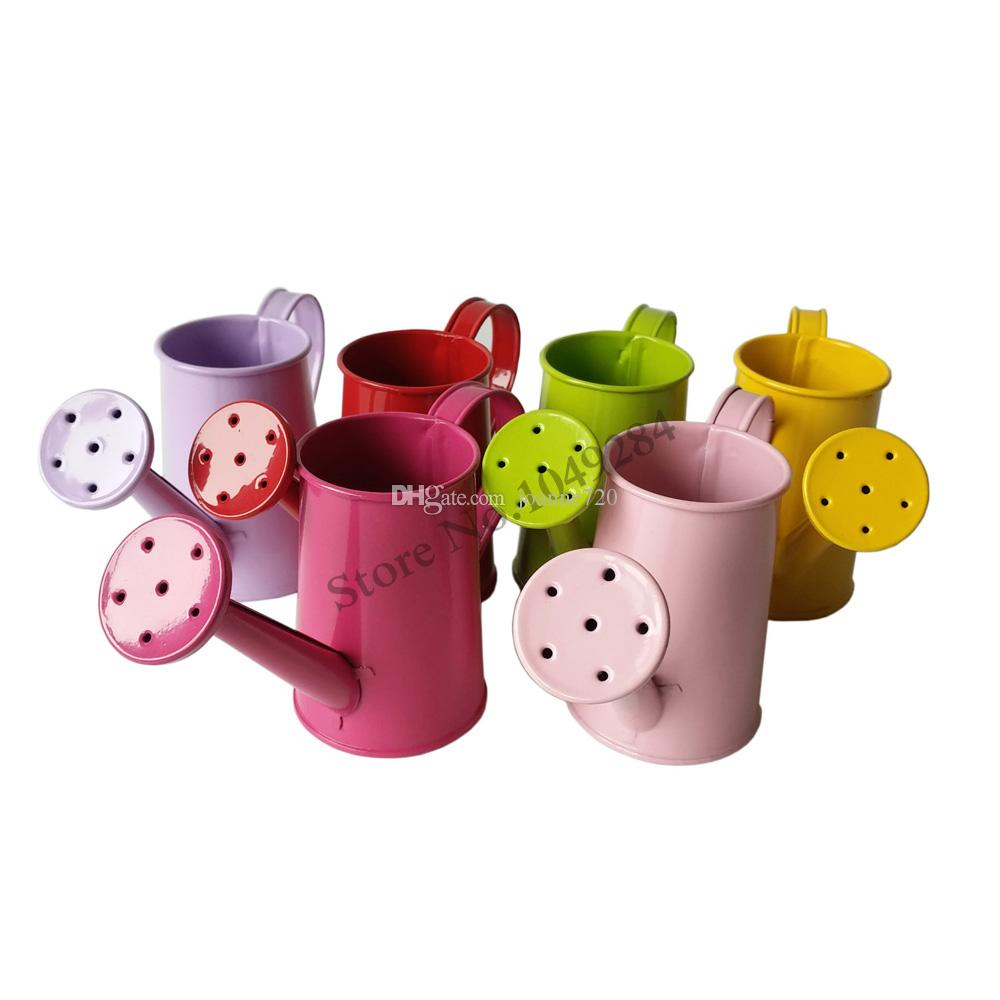 2018 Metal Favor Pail Mini Small Watering Can Bucket