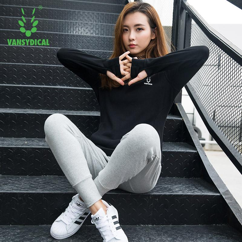 2017 Women Cotton Yoga Pants Breathable Trousers High ...