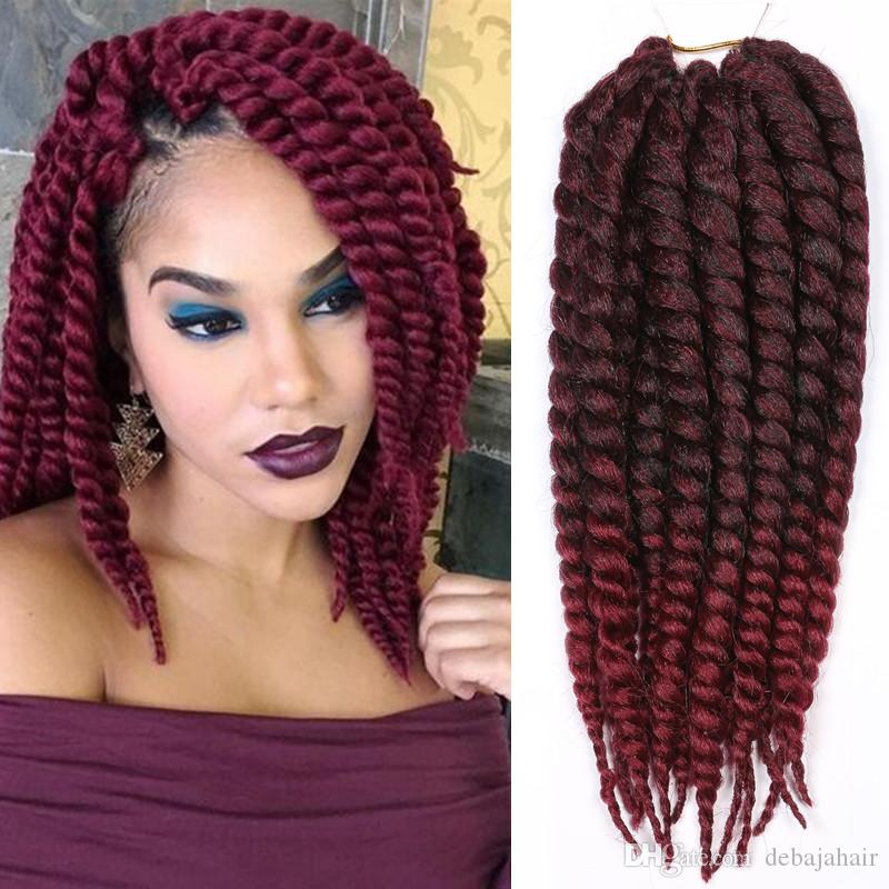 Xpression Ombre Synthetic Braiding Hair Extensions