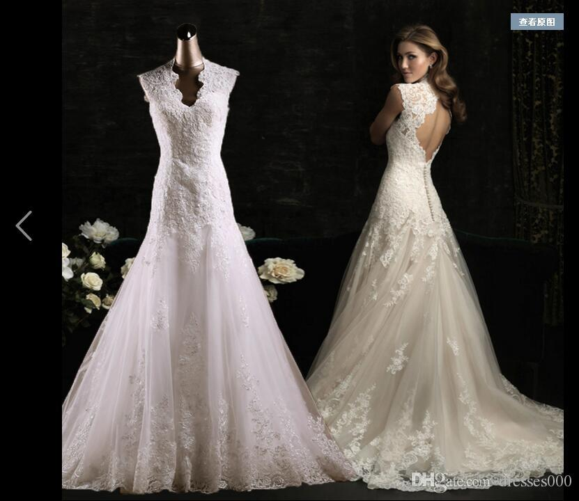 Discount bohemian country style wedding dresses for uk for Bohemian style wedding dresses for sale