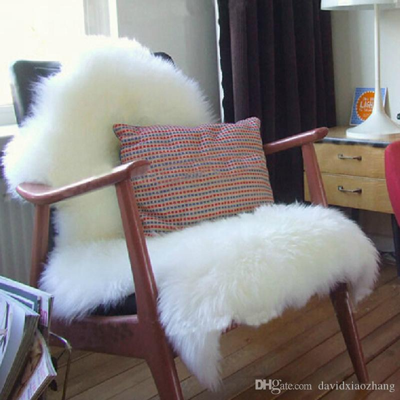 600mmx900mm Hairy Carpet Sheepskin Chair Cover Soft Bedroom Faux Mat Fluffy  Area Rugs Bedroom Mat Rug Carpet Mat Online With $26.23/Piece On ...
