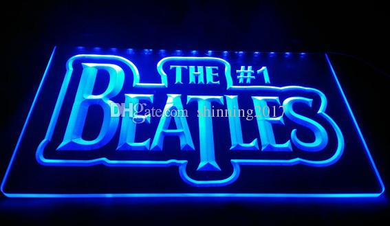 LS1588-B-The-Beatles-Band-Music-Logo-Bar-Neon-Light-Sign Decor Livraison gratuit