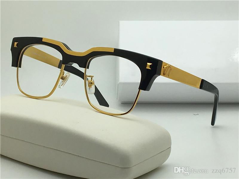 2017 New Medusa Glasses Prescription Semi Rimless Eyewear ...