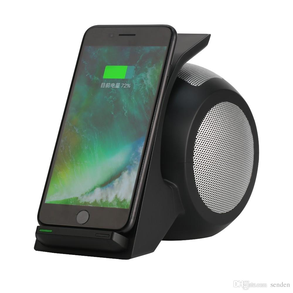 samsung bluetooth speakers. unique snail shaped 3 in 1 bluetooth speaker wn1 wireless quick charge \u0026 phone holder portable nfc subwoofer with micphone qi charging stand samsung speakers