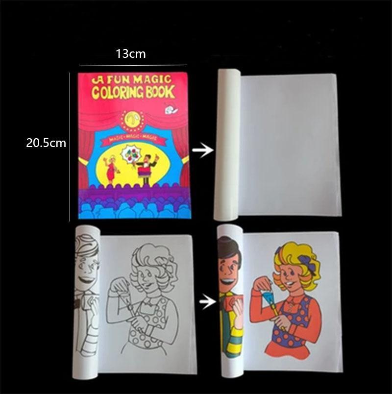 a fun magic coloring book medium size magic tricksmentalismstage magic propscardmagic accessoriesgimmicksclose up trick magic new online with - Coloring Book Magic Trick