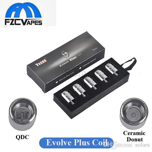 Original Yocan Evolve Plus Coil Quatz Dual Coil Qdc And