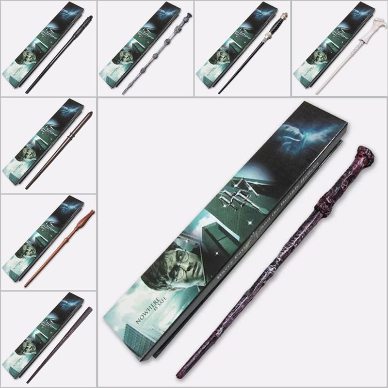 On sale 18 models harry potter wand sirius black hermione for Dumbledore wand for sale