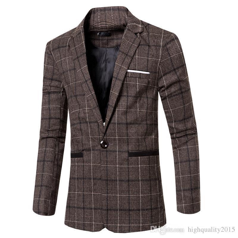 Bamboo Clothing Wholesale Europe: Best New Autumn Winter Men'S Blazers European Style