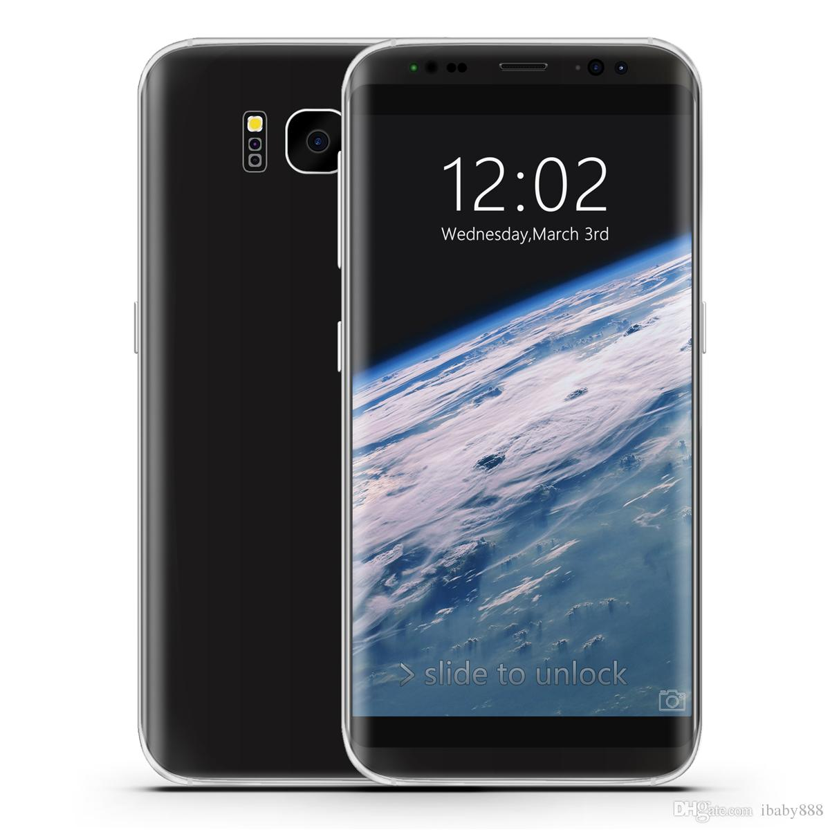 5.8 pouces Goophone S8 S8 + V2 Android 7.0 4G LTE Octa Core 6 Go 128 Go 3G WCDMA