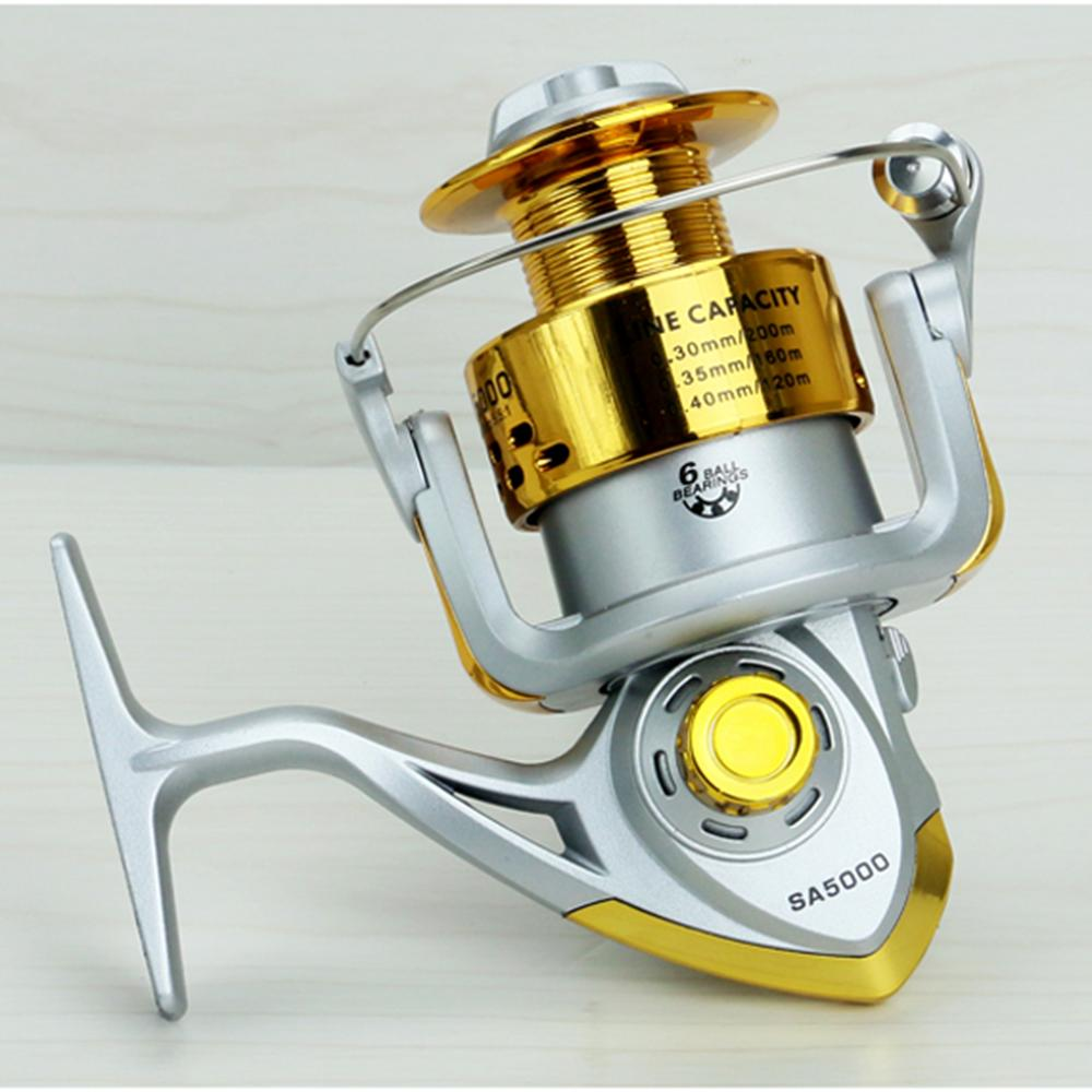 Online cheap cheap spinning reels 6ball bearing 5 5 1 gear for Discount fishing reels