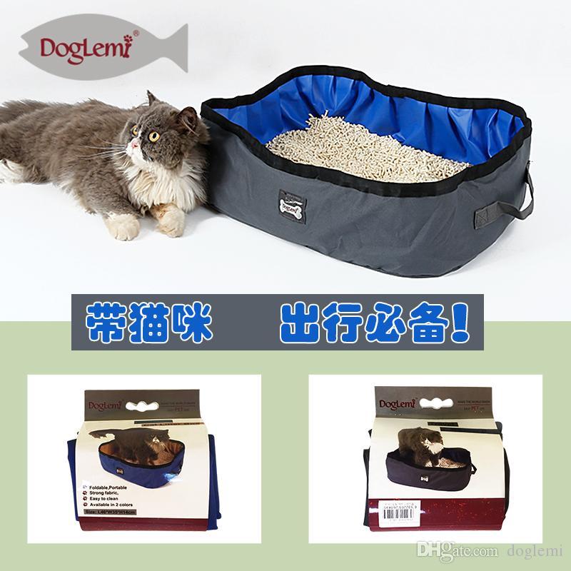 Portable Travel Cat Litter Box