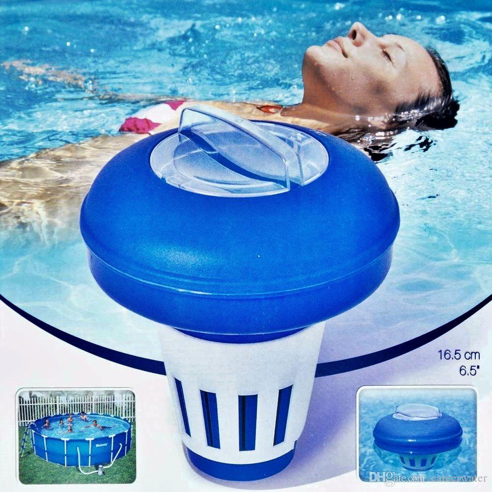 Bestway 6 5 Swimming Pool Chemical Floater 58071 Bestway Pool Float Online With On