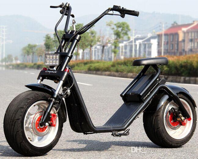 Wholesale Car Parts >> 2017 Electric Bicycle Electric Car Battery City Harley Adult Double Electric Scooter Portable ...