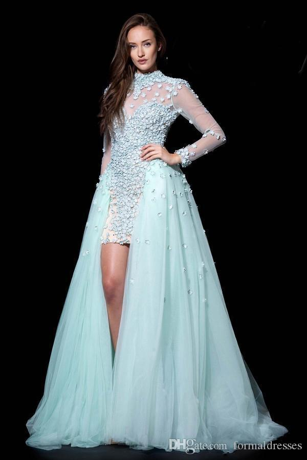 2017 Bohemian Paolo Sebastian Prom Dresses With Long ...