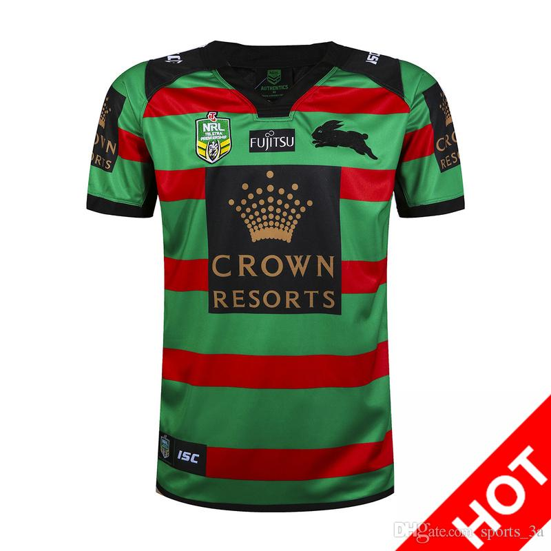 Top Thailand qualit 2017 South Sydney Rabbitohs RUGBY jersey RWC NRL Super Rabbi