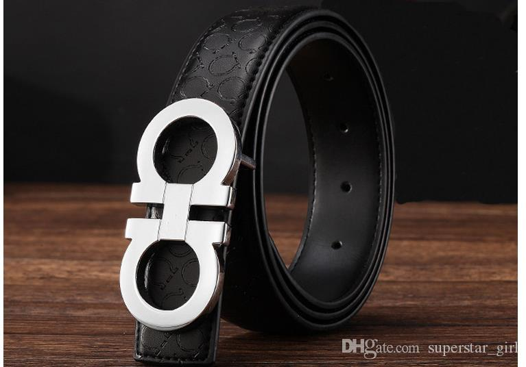 New Fashion Mens Business designer Ceintures Luxe Ceinture Buckle automatique Ce
