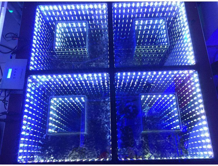 3d Floor Panels : New mirror d led dance floor light with sd control