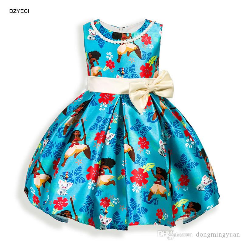 moana costume for baby girl princess dresses summer