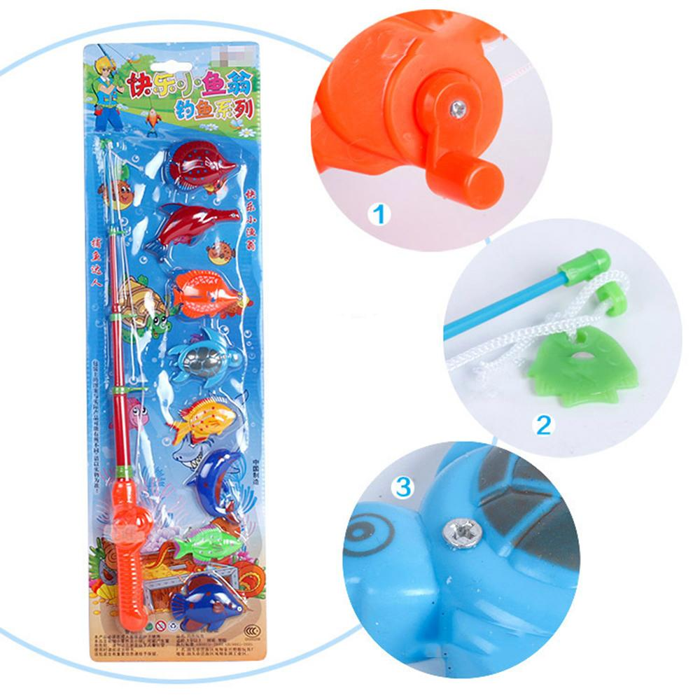 Fish Game Toy : Wholesale magnetic fishing game toy makes kids