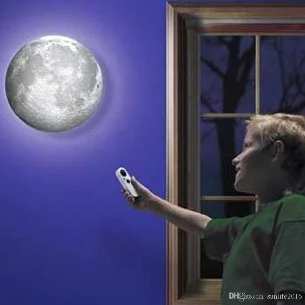 remote control wall moon night light lamp moon simulation  - see larger image