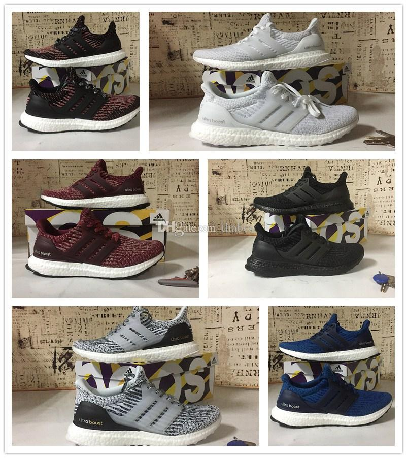 Chaussures de course 2017 Ultra Boost 3.0 Chaussures de course Oreo CNY Triple B